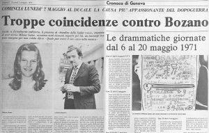 Biondino Spider Rossa - Milena Sutter - Lorenzo Bozano