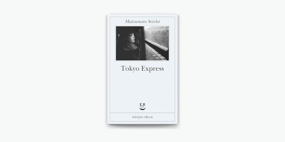 Cover con sfondo bianco-Tokyo Express-Adelphi-libro-Magazine Biondino della Spider Rossa - ProsMedia - Agenzia Corte&Media