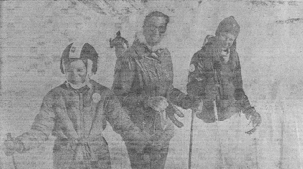 Milena Sutter in vacanza in montagna - magazine Il Biondino della Spider Rossa - ProsMedia - Agenzia Corte&Media