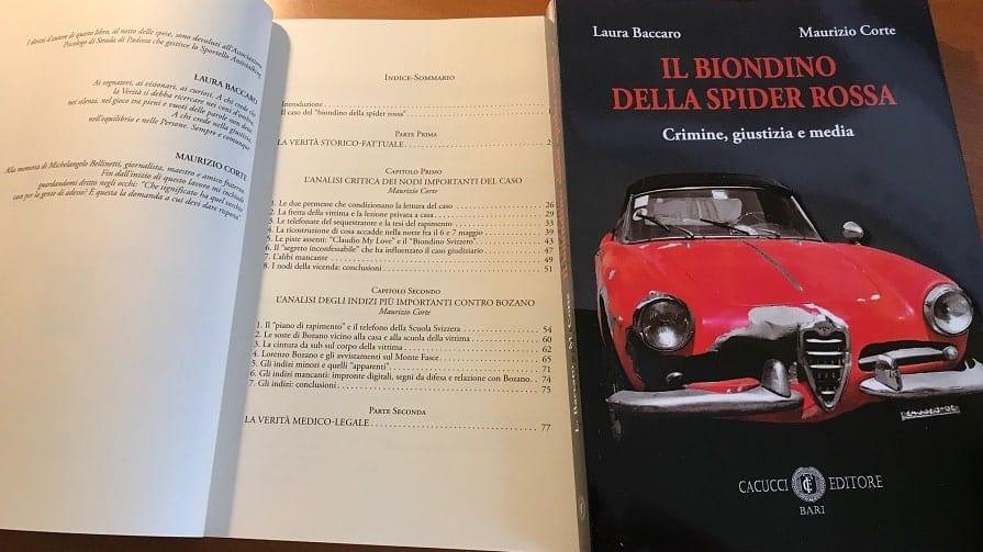 Caso Milena Sutter - Lorenzo Bozano - libro Il Biondino della Spider Rossa sul sequestro e omicidio di Milena Sutter - blog ilbiondino.org - Agenzia Corte&Media Verona