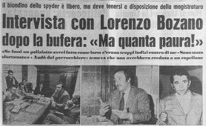 Lorenzo Bozano - sequestro e omicidio milena sutter - blog ilbiondino.org - Agenzia Corte&Media Verona