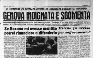 Milena Sutter e Yara Gambirasio - i casi di Genova e Bergamo