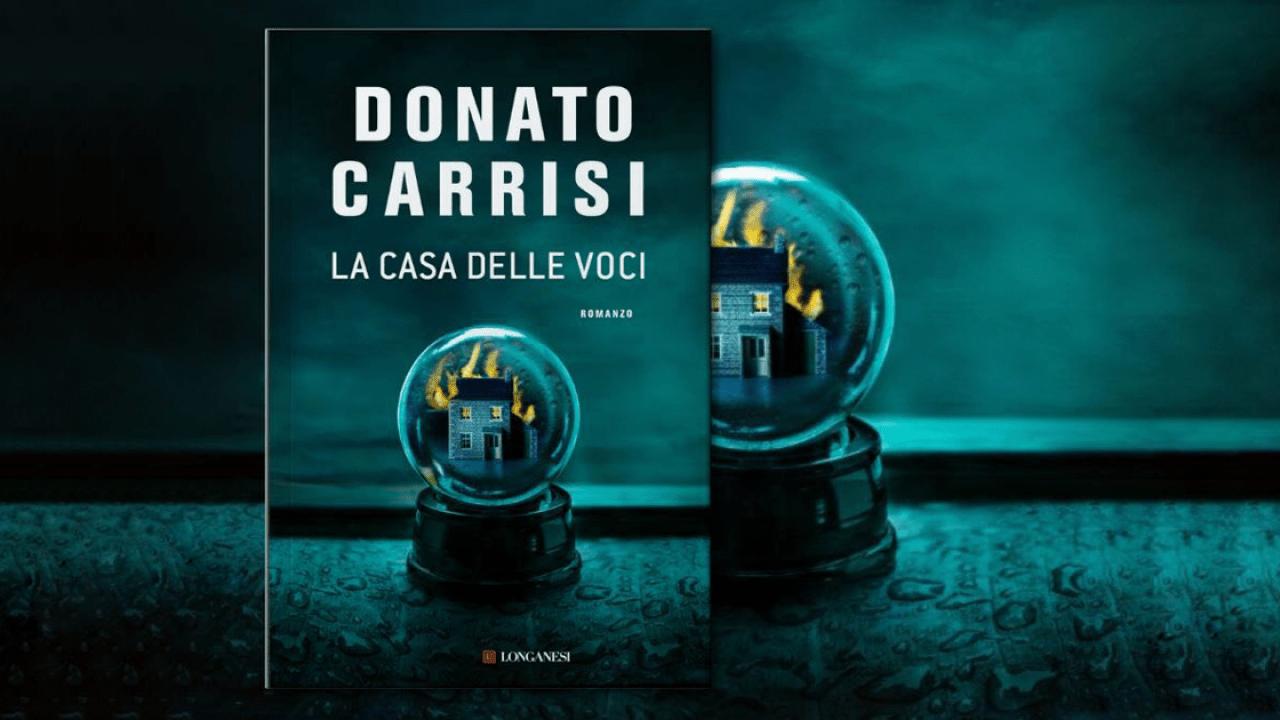 Pubblicità - Recensione libro La Casa delle Voci di Donato Carrisi - Biondino della Spider Rossa - ProsMedia - Agenzia Corte&Media